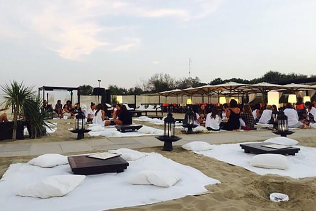 Sunset aperitif al Singita