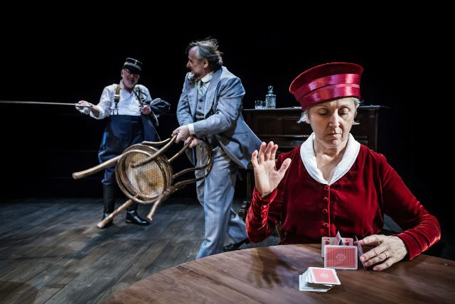 'Play Strindberg' a Russi