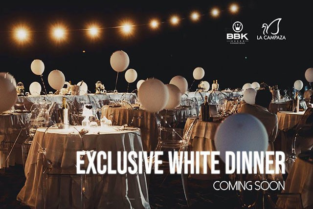 White dinner party al Bbk